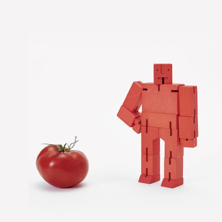 【Areaware】積木變形機器人(中)-紅