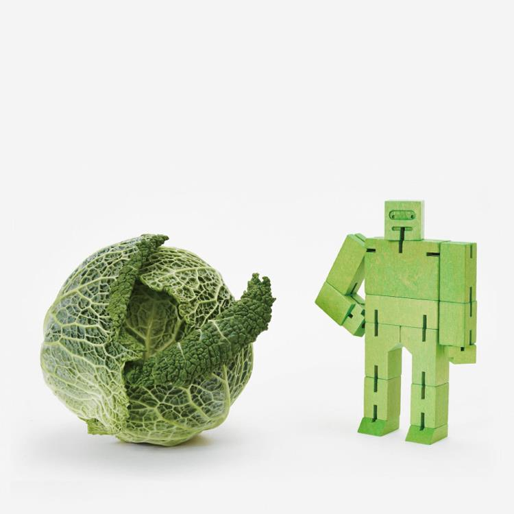 【Areaware】積木變形機器人(小)-綠