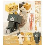 nyano mini 貓楞 組裝模型 限定版(3花)