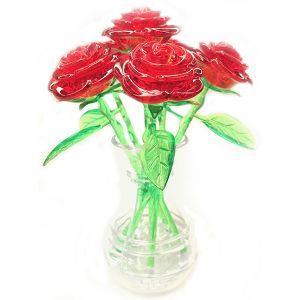 3D水晶拼圖-戀戀玫瑰花