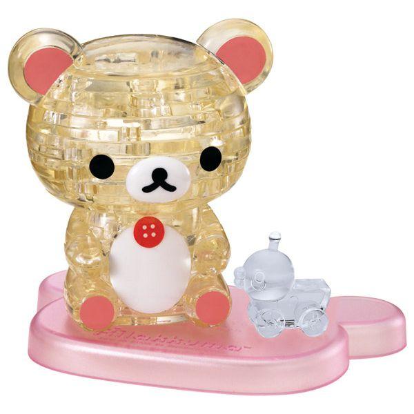 3D立體水晶拼圖 Korilakuma-牛奶熊 (授權商品)