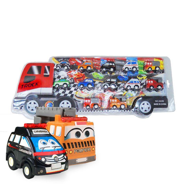 大卡車迴力車(紅色)