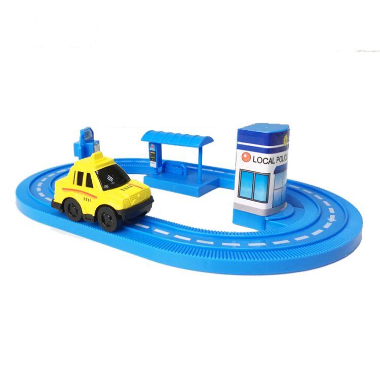 小車車!軌道車組(藍色)