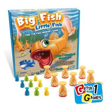 大魚吃小魚桌遊