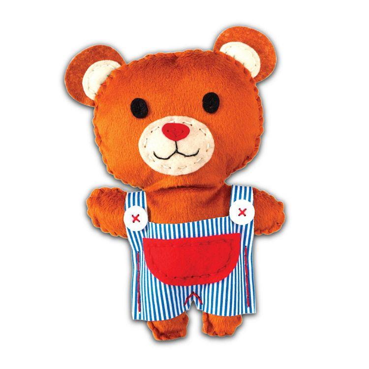 AVENIR Kids / 手縫可愛布偶系列-熊熊 CH1373