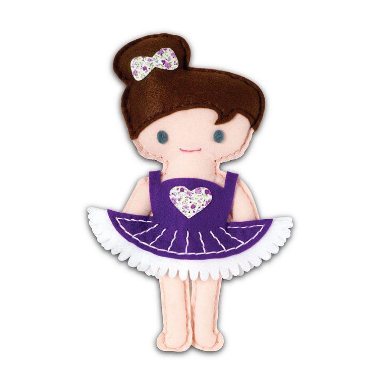 AVENIR Kids / 手縫可愛布偶系列-芭蕾舞者 CH1382