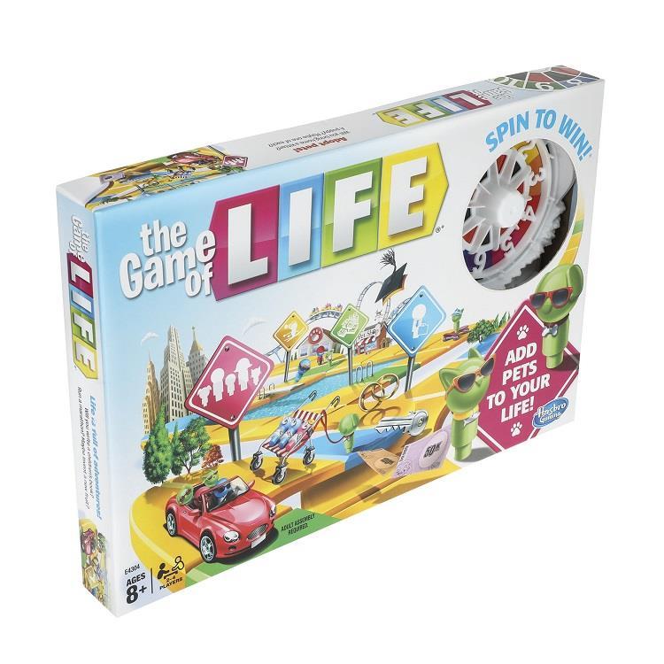 【Hasbro桌遊】生命之旅教育游戲組