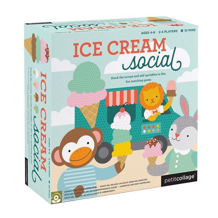 美國Petit Collage-桌遊-冰淇淋接龍