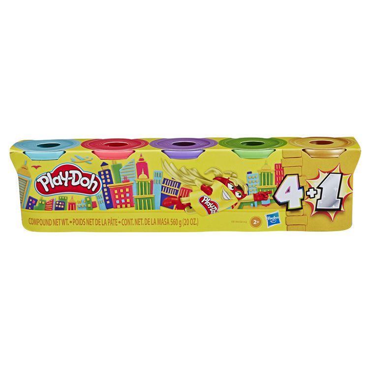 【Play-Doh 培樂多】四色+1 限量版-Gold
