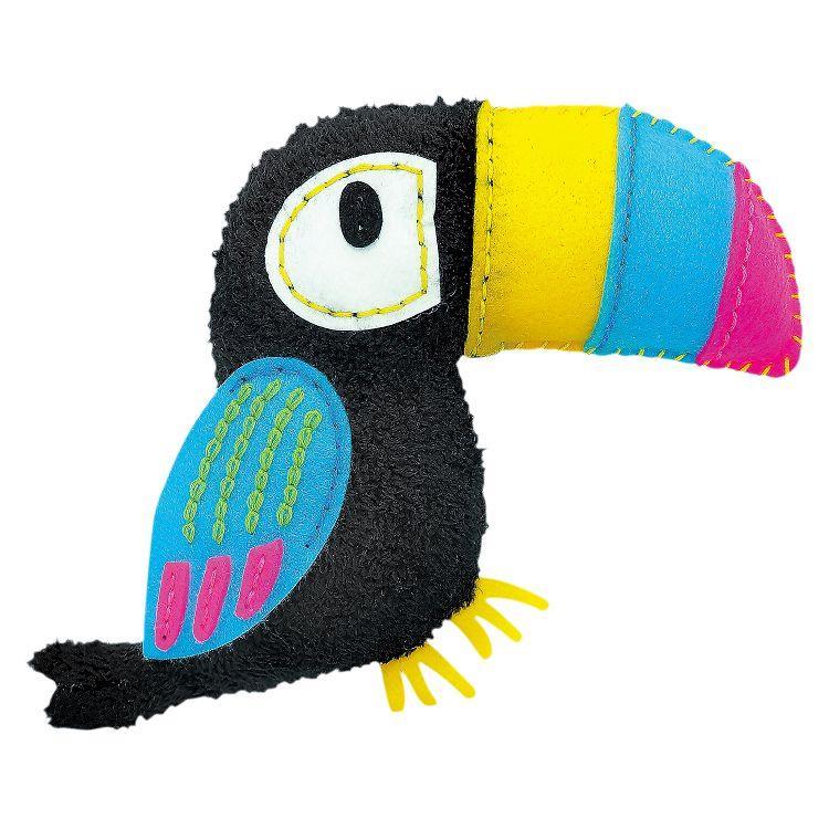 AVENIR Kids / 手縫可愛布偶系列-紙筒-巨嘴鳥