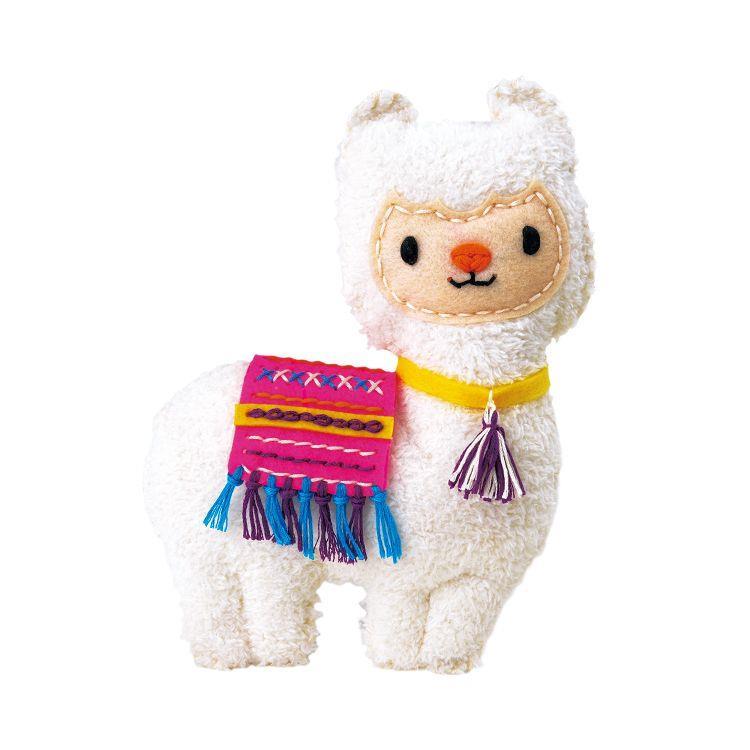 AVENIR Kids / 手縫可愛布偶系列-紙筒-羊駝