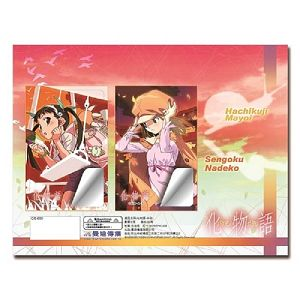 化物語-卡貼-真宵蝸牛&撫子蛇