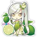 12生肖獸娘 X 台灣水果- 蛇【檸檬】壓克力鑰匙圈