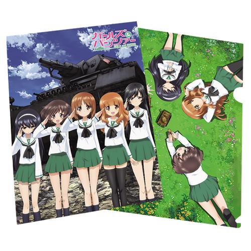 少女與戰車-L夾文件袋(4)