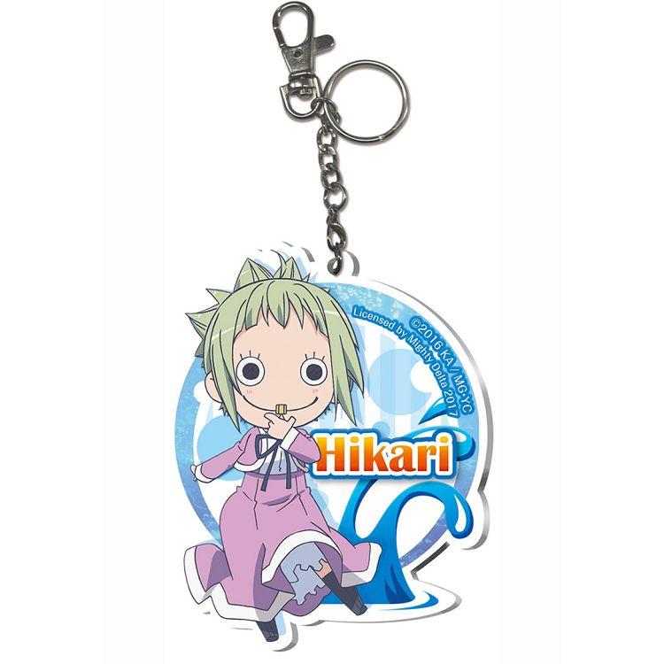 藍海少女-壓克力鑰匙圈-hikari