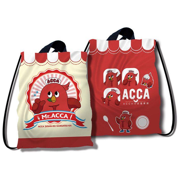 ACCA13區監察課-大束口背袋-鳥頭牌