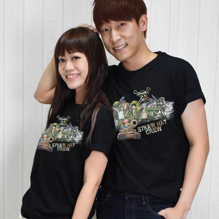航海王-潮流全彩T-shirt(綜合)XL