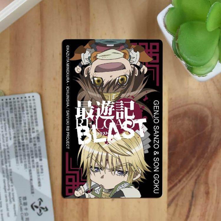 最遊記-卡片貼紙A款(孫+玄)