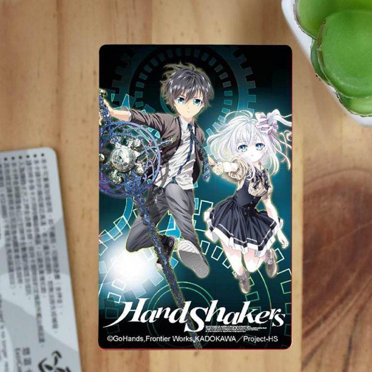 Hand Shakers-卡片貼紙A款(芥+高)