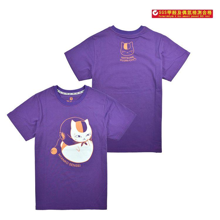 夏目友人帳-潮流T-shirt(橘子)XL(貓)