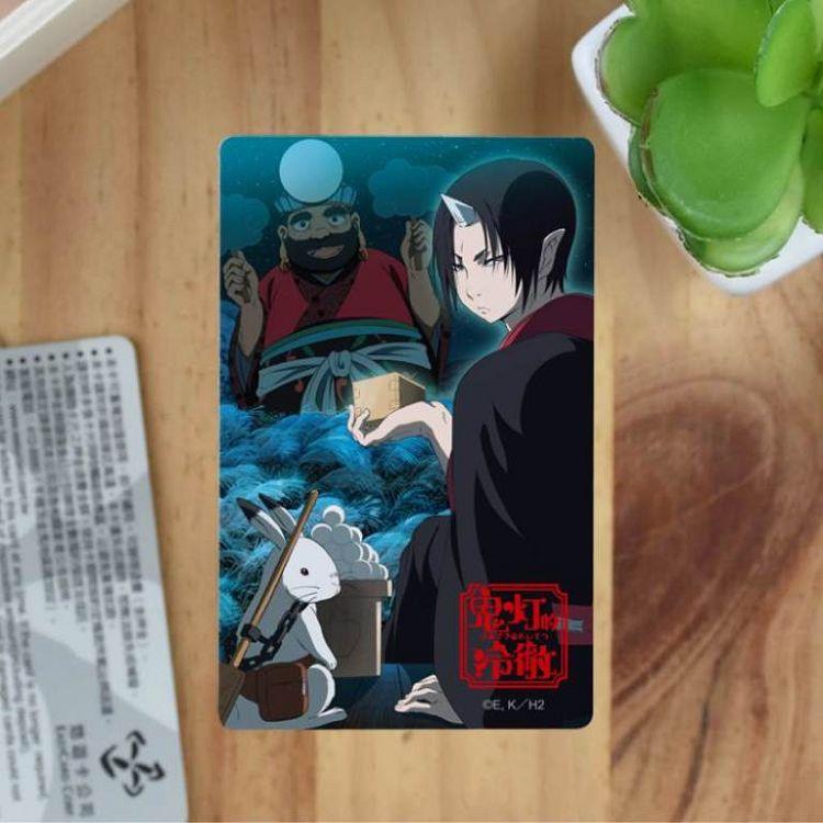 鬼燈的冷徹-卡片貼紙I款(綜)