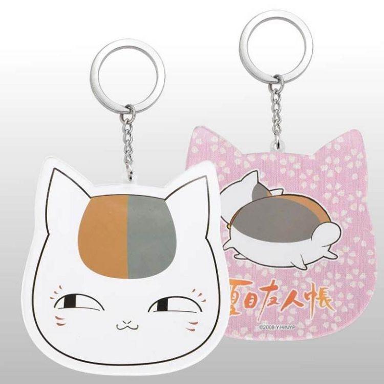 夏目友人帳-鑰匙圈(大壓克力)A款(貓)