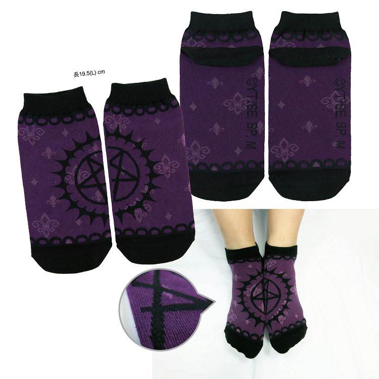 黑執事Ⅲ-短襪(細針織)A款(契約)