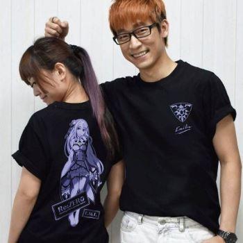 從零開始-潮流T-shirt(愛蜜莉雅黑T)XL