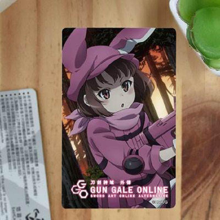 刀劍神域-卡片貼紙外傳GGO B款(蓮)