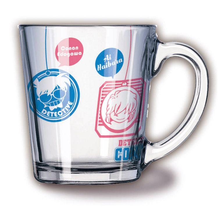 名偵探柯南-透明玻璃杯-茶包