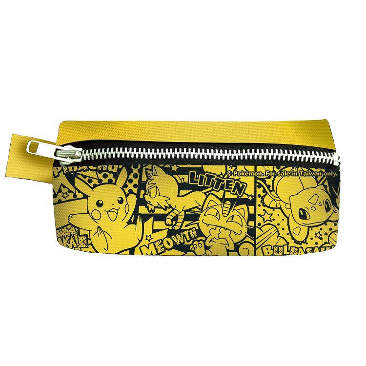精靈寶可夢-扁式筆袋-Pikachu Comics