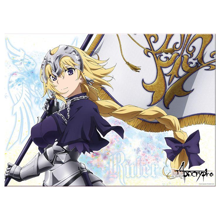 Fate/Apocrypha-銀箔海報-聖女貞德