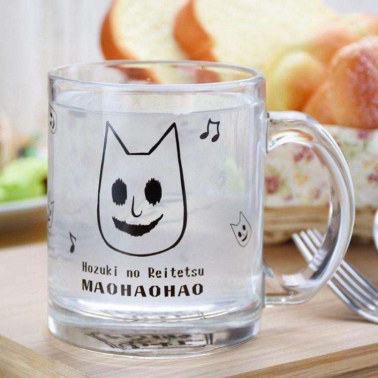 鬼燈的冷徹-玻璃杯(透明)B款(貓好好)