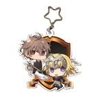 Fate/Apocrypha-大壓克力吊飾Sieg&Ruler