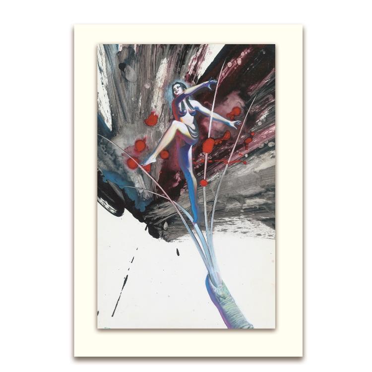 鄭問-大圖卡-蝶子