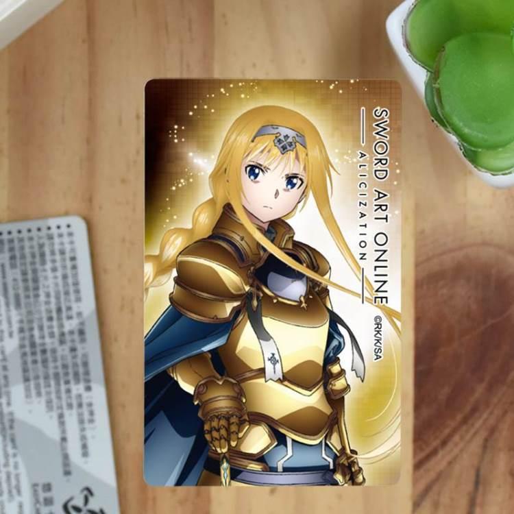刀劍神域-卡片貼紙ⅢB款