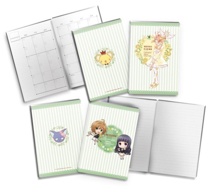 庫洛魔法使-手帳-月計畫