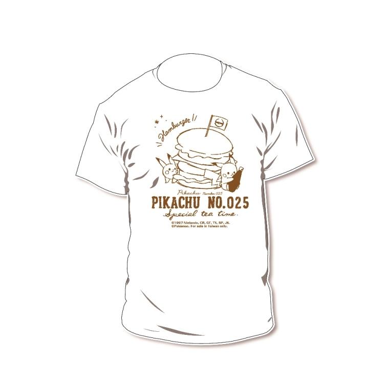 精靈寶可夢-T恤-漢堡丘-S