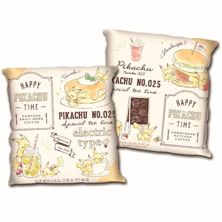 精靈寶可夢-方形小枕-丘味食堂
