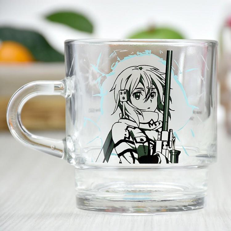 刀劍神域Ⅱ-疊疊杯(玻璃)A款(詩乃)