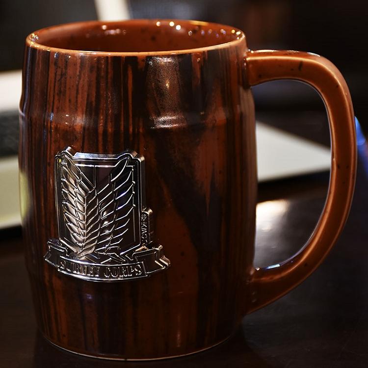 進擊的巨人-酒桶杯(陶瓷)A款(調)