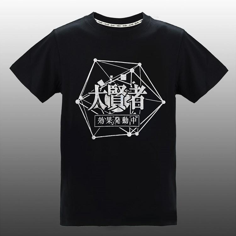 轉生史萊姆-潮流炫光T-shirt(大賢者)L