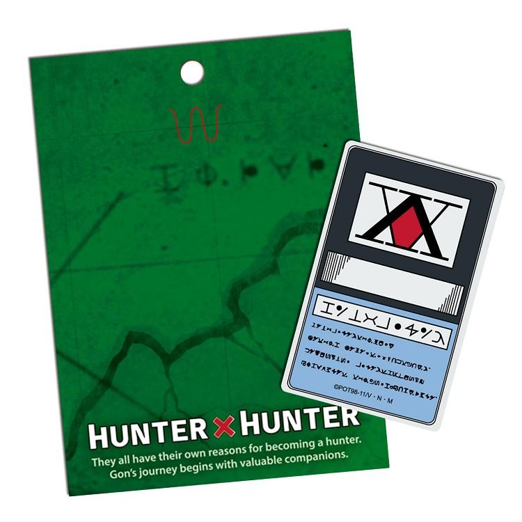 Hunter-卡片貼紙N款(獵人執照)