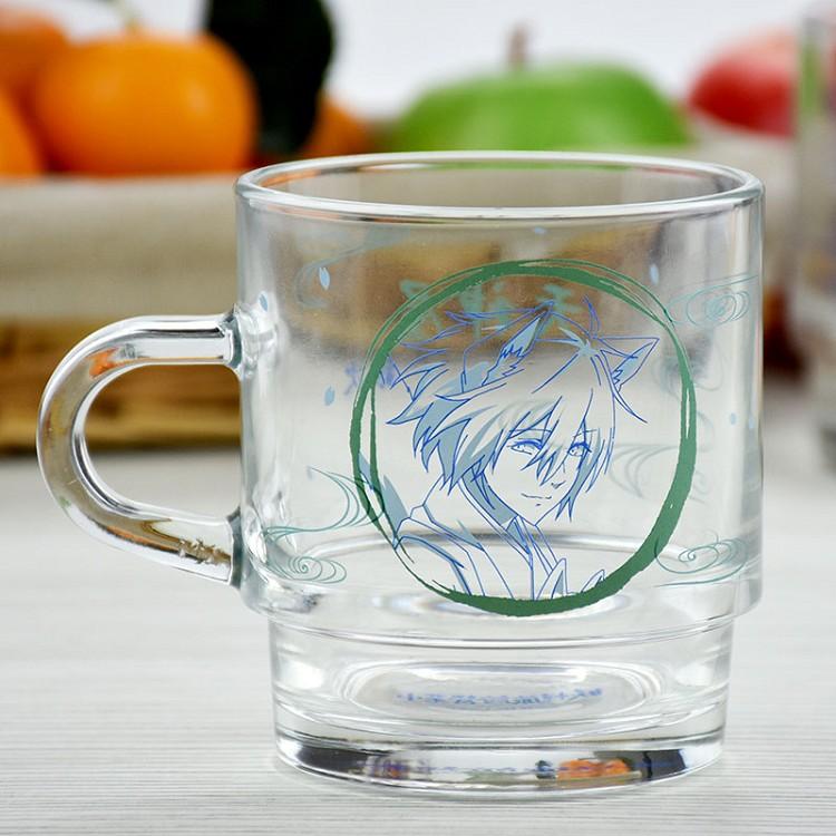 妖怪旅館-疊疊杯(玻璃)B款(銀次)
