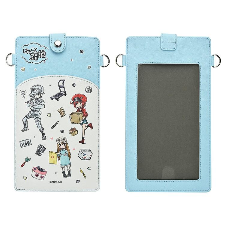 工作細胞-手機袋吊掛包(雙層直式GraffArt)A款(綜)