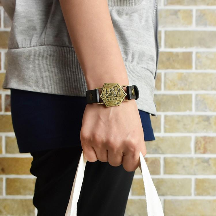 轉生史萊姆-皮革手環(個性金屬)A款(大賢者)