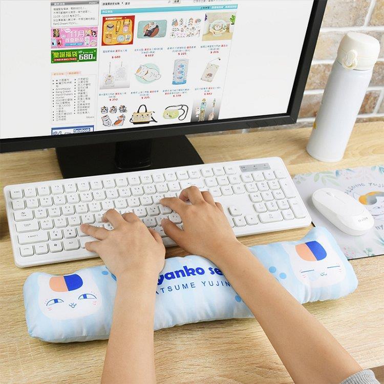 夏目友人帳-鍵盤枕A款(貓)