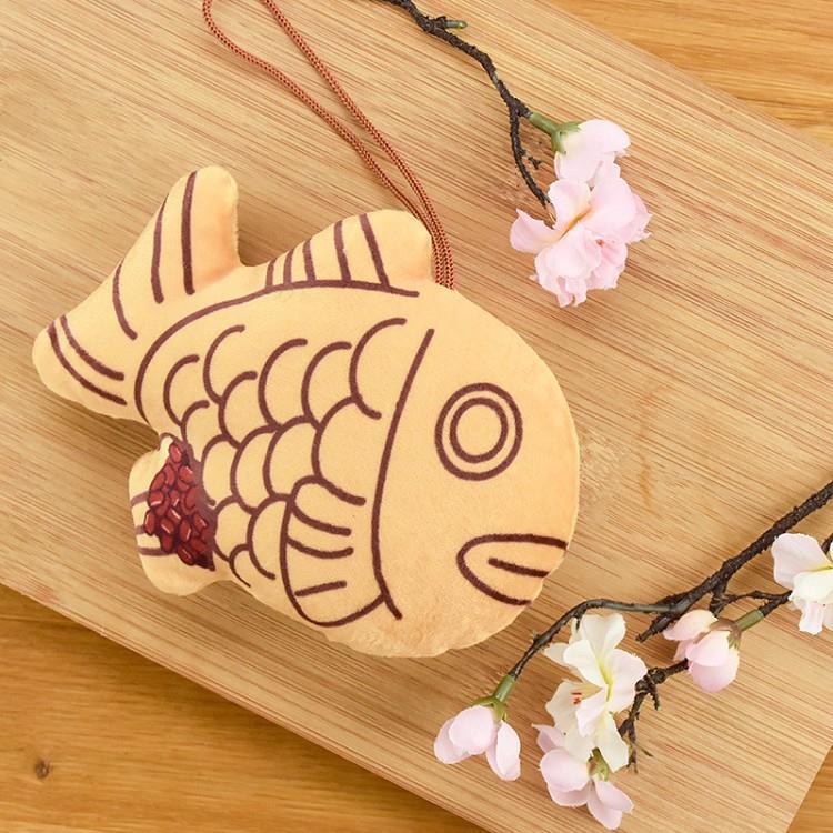 吊飾(鯛魚燒)-木棉花自製A款