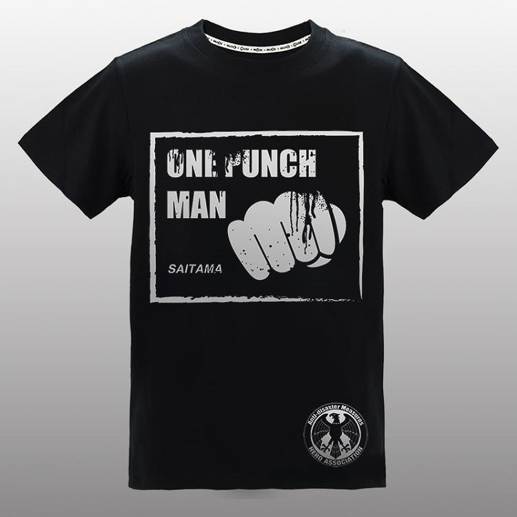 一拳超人-燙銀T-shirt(一拳)L