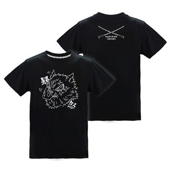 潮流炫光T-shirt(伊之助)-鬼滅之刃L